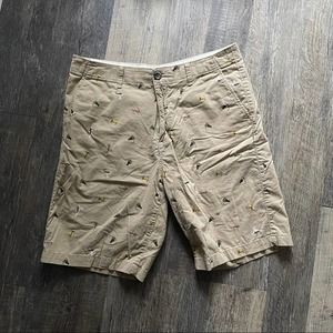 Eddie Bauer | Khaki Fishing Lure Shorts